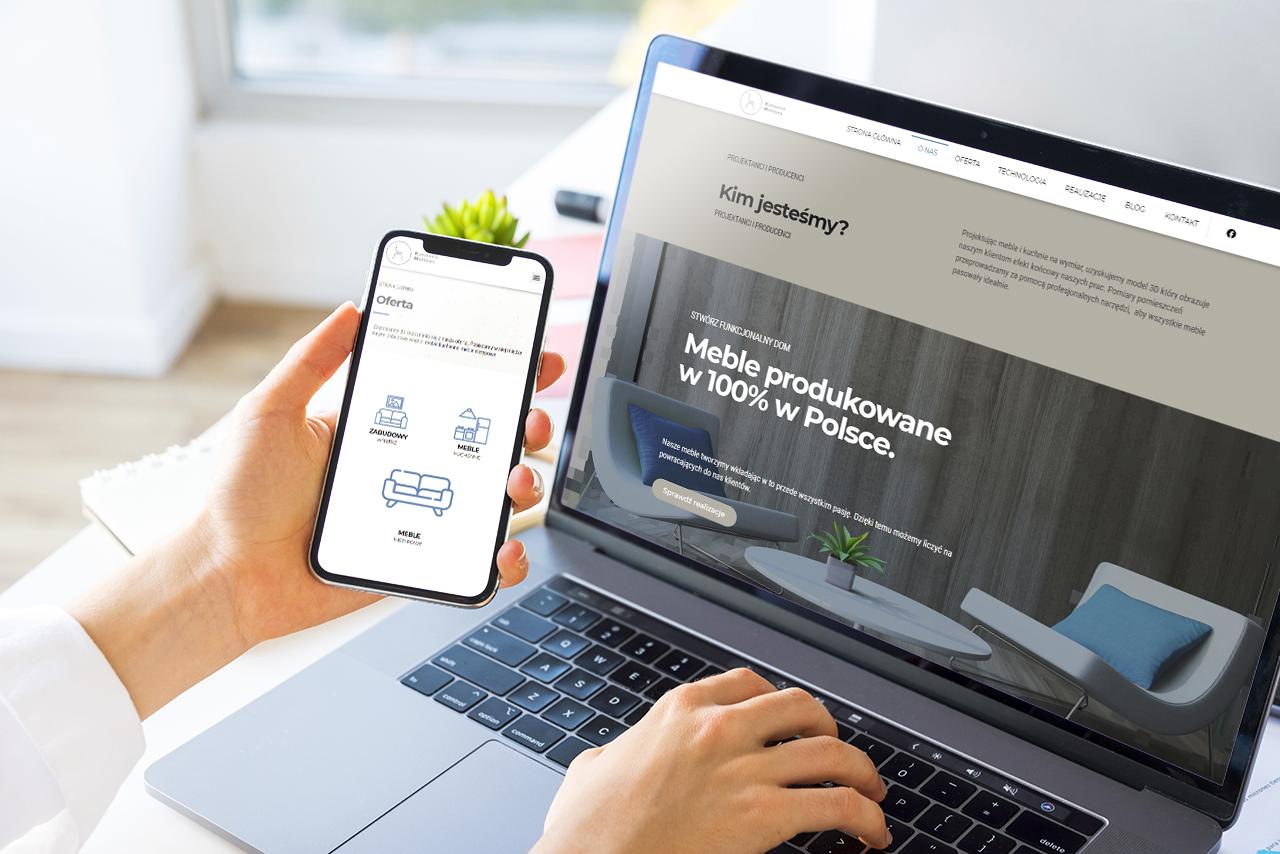 Kompania Meblowa - Strona WWW wykonana przez CSS-CREATE
