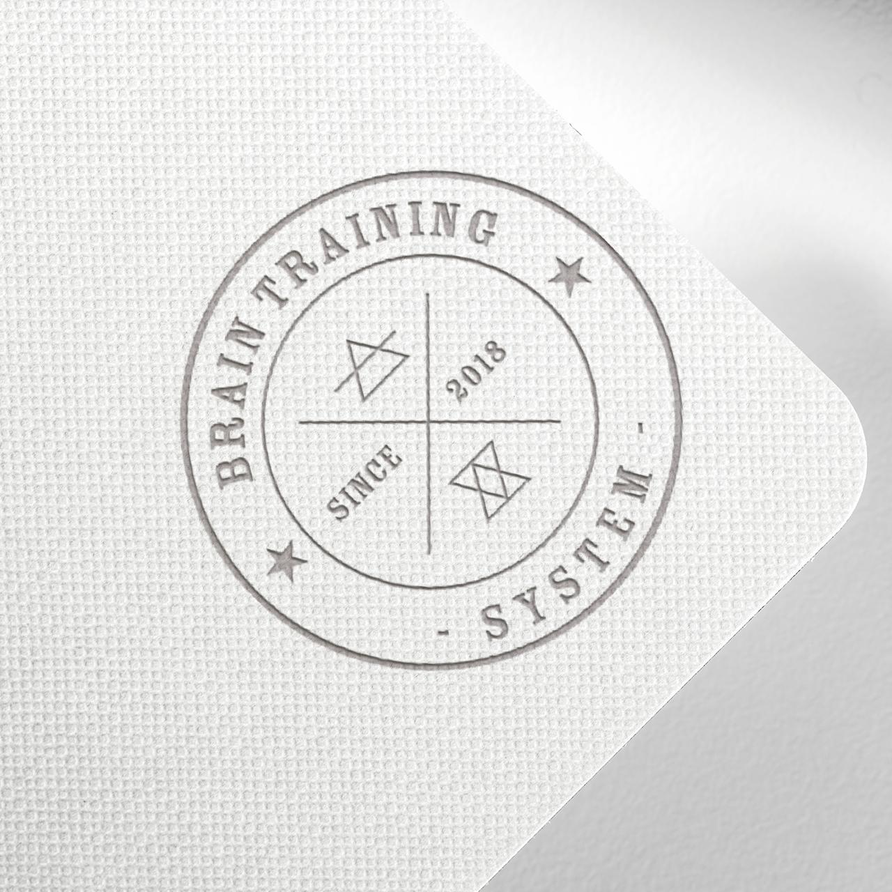 logo brain traing system zaprojektowane przez css-create.pl